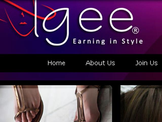 Website Design – Direct Sales Retail Site